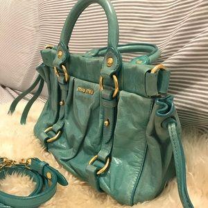 5e919e0b7933 Miu Miu Bags - Miu Miu Vintage Two Way Handbag RT0383
